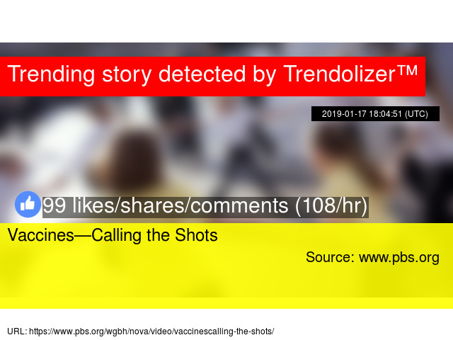 Vaccines Calling Shots Excellent Pbs >> Vaccines Calling The Shots